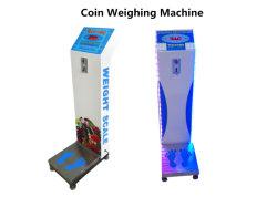 Balança de Pesagem com moedas com célula de carga de 500 kg