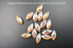 馬の目の形の空想の水晶爪ガラスの石