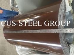 Vernies de feuilles en acier galvanisé prélaqué en bobines de 0,35X1200