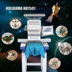 10 anos de serviço! ! ! Calculador de cabeça única máquina de bordado Tampa Multifunções de Alta Velocidade T-shirt vestido bordado