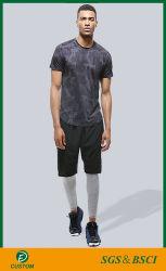OEM Service мужчин сухой установите спортивные короткие втулки круглой горловины футболки с дешевой цене