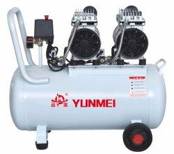 550W/750W-50L d'huile compresseur à air libre et silencieux double tête