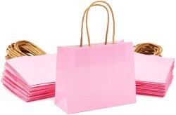 Mini sacs cadeaux avec poignées conforme FDA pour l'emballage d'utilisation des Cookies Desserts de bonbons