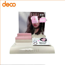 Display Counter-Top Con Lenti A Contatto In Carta Personalizzata