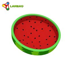 Novo design pequeno formato de melancia engraçado Giroscópio de giro suave de brinquedos para crianças