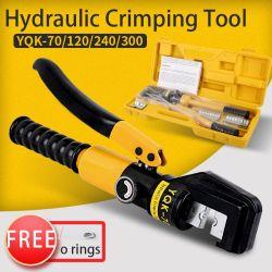 Kleine kabelschoen hydraulische tang handleiding YQK-70 hydraulische krimptang
