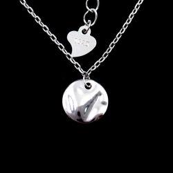 Speciale Echte Zilveren rond Gevormde Halsband voor de Gift van de Verjaardag van het Meisje