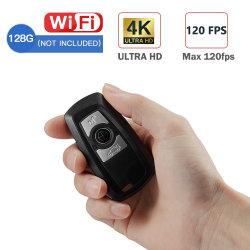 2019 Портативный разрешение 4K от Sony Len WiFi мини CCTV DVR Видеорегистратор Car камера Key