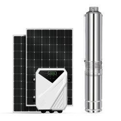 A energia solar Sunpal sistema da bomba de água em aço inoxidável 48V DC Força Centrífuga Submersíveis Furo centrífugo e preço da bomba de alta pressão de irrigação agrícola