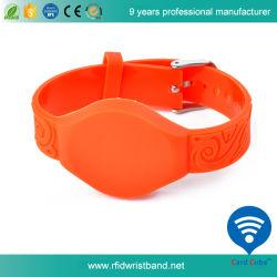 Новый дизайн Tk4100 RFID браслет из ПВХ