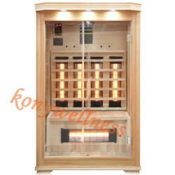 Les plus populaires de l'infrarouge lointain en bois Sauna sec comme l'appareil plus chaud pour garder toute la famille de la Santé et beauté avec ce certificat, ETL