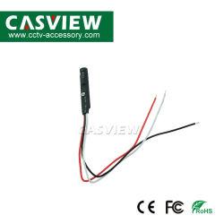 感度の調節可能な小型隠された可聴周波積み込み、可聴周波モニタリングの範囲: 5-60m² 、ハイファイ、100~5kHzの機密保護の監視CCTVのアクセサリ