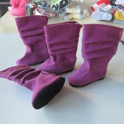 Lindo personalizado Mini botas zapato Muñeca