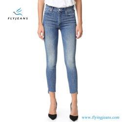 2019本の方法伸張の細い女性のデニムのジーンズ