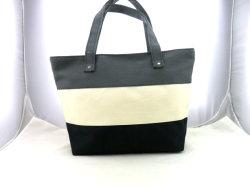 ثلاثة لون مزيج أسود بيضاء رماديّ بوليستر حقيبة