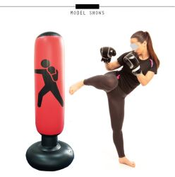 Independiente inflables Saco de Arena, la pesada bolsa de formación de adolescentes, adultos Fitness Sport de alivio del estrés de ESG12945 Objetivo boxeo