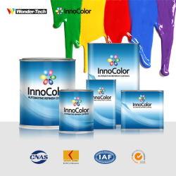 Акриловые краски для автомобильной промышленности 1K нижнего слоя алюминия металлик краски для автомобиля переточите