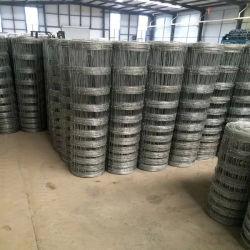 Granja de alambre galvanizado de acero de alta compensación pradera