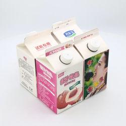 El embalaje de material laminado para la leche y bebidas