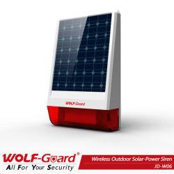 Nuevos Sirena Solar inalámbrica JD-W06 Smart Alarm alarma de Casa de la sirena exterior