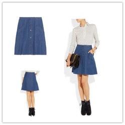 As mulheres denim azul Moda Saias (L698)