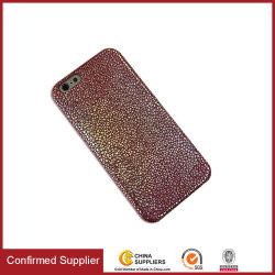 iPhone 用のファンタジースリム PU カスタマイズカラー携帯電話ケース