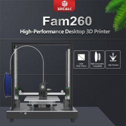 macchina della stampante di stampa 3D di alta precisione di formato di stampa della stampante 230X230X260mm di 3DTALK FAM260 3D