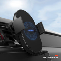 Carro Carregador Sem Fio Telemóvel Titular carro porta-celular Amazon Hot Vender carro sem Fios para montagem do carregador de carro porta-celular