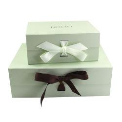 주문 엄밀한 마분지 자석 마감 Foldable 패킹 겹 의류를 위한 서류상 포장 선물 상자 또는 의복 또는 화장품 또는 예술 및 기술 또는 단화 또는 초 또는 로즈 또는 선물