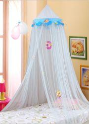 아이들 (백색) 둥근 레이스 돔 그물세공 커튼 남자 아기와 소녀 게임 집을%s 가진 아이 노는 독서를 위한 모기장 침대 닫집 실행 천막 침구