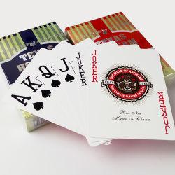 100% пластика и ПВХ Texas Poker Игральные Карты