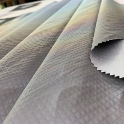 50d 158GSM Woven Mechanische Super Stretch 100% Polyester drie inch Eén gelijmde Outwear Skiwear Sportswear Fabric