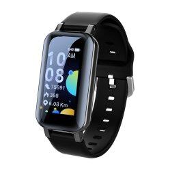 1のイヤホーンおよびイヤホーン2が付いている中国の製造所ビジネスギフトの一定の贅沢2020のスマートな腕時計ECG