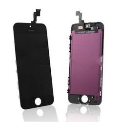 Conjunto do LCD de ecrã táctil preta para iPhone 5s/SE/5C