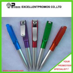 قلم بلاستيكي رخيص ترويجي مع Nail Clipper Clipper (EP-P141024)