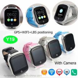 Camera Y19를 가진 Elderly를 위한 3G/WCDMA GPS Watch Tracker Phone