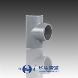 1-1/4 pouce de 1-1/2 pouce de 2pouce ASTM sch80 CPVC T égal