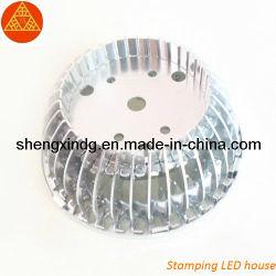 高品質LEDのコップの球根のラジエーター脱熱器脱熱器Sx157を押すこと