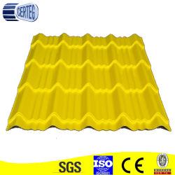 Tuile ondulé en couleur (CTG un 064)
