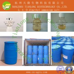 Os herbicidas altamente eficaz 2, 4-D Dimetilamina Sal (98%TC, 72%SL, 860g/LSL)