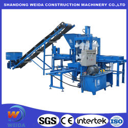 De plástico de alta resistência para o bloco de Concreto PVC Palete Palete de tijolos de cimento para a máquina de fabrico de blocos de betão