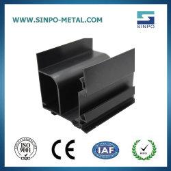 Profil en aluminium anodisé noir avec des prix plus bas