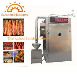 Chouriço 1500W fazer fumaça Casa Alimentar a máquina