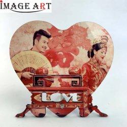 Sublimación MDF Marco para la boda/amantes/parejas Don 180*165mm Nº C006