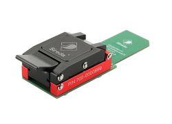 Prueba Emmc Socket_14x18mm con adaptador SD para Chipoff Test y pruebas forenses, Compatible BGA100, realizar, para IC con bolas de soldadura, Recuperación de datos