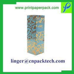 ワインのための注文仕立てのサイズ、材料および形のボール紙のアートペーパーの上塗を施してあるギフト用の箱か食糧または宝石類