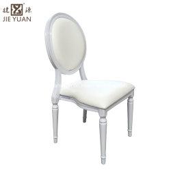 販売のレストランの椅子のための中国の屋外の金属の革プラスチック木によって使用される表