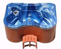 STAZIONE TERMALE blu a buon mercato mini del mulinello di colore di alta qualità della persona di abitudine 3/STAZIONE TERMALE vasca calda per la casa (KGT-JCS-23)