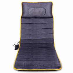 Elevadores eléctricos de corpo inteiro de vibração para amassar e aquecimento de massagem Shiatsu colchão de volta do pescoço nádega e almofada de Massagem