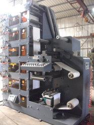Máquina de impresión flexográfica (ZB-320) película PVC adhesivo etiqueta OPP